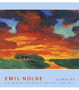 Wall calendar Emil Nolde: Gemälde 2017