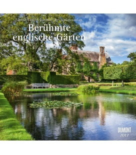 Wall calendar Berühmte englische Gärten 2017