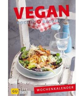 Nástěnný kalendář Veganské vaření a pečení / Vegan kochen u. backen GU 2017
