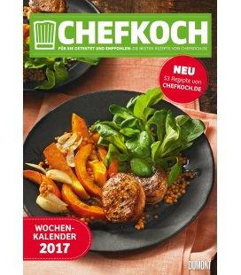 Nástěnný kalendář Šéfkuchař / Chefkoch.de - G+J 2017