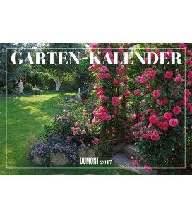 Nástěnný kalendář Zahrady / Gartenkalender 2017