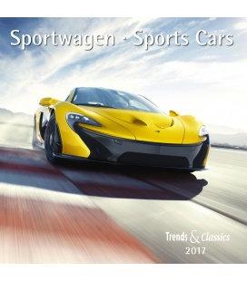 Wall calendar Sportwagen T&C 2017