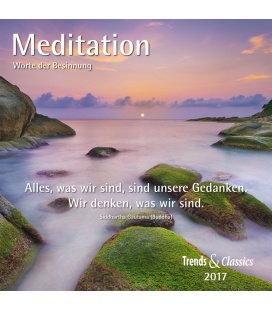 Wall calendar Meditation T&C 2017