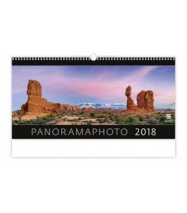 Nástěnný kalendář Panoramaphoto 2018