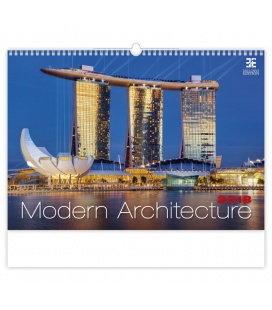 Nástěnný kalendář Modern Architecture 2018