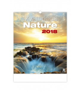 Nástěnný kalendář Mysterious Nature 2018
