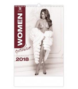 Nástěnný kalendář Women Exclusive 2018