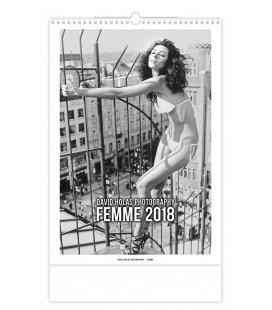 Nástěnný kalendář Femme 2018
