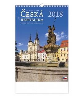 Nástěnný kalendář Česká republika/Czech Republic/Tschechische Republik 2018