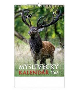 Nástěnný kalendář Myslivecký kalendář 2018