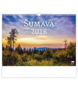 Nástěnný kalendář Šumava 2018