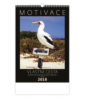 Nástěnný kalendář Motivace 2018
