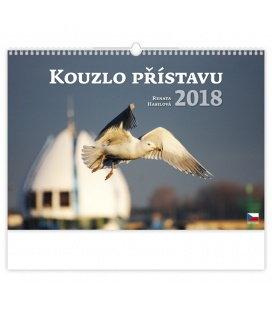Nástěnný kalendář Kouzlo přístavu 2018