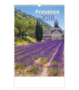 Nástěnný kalendář Provence 2018