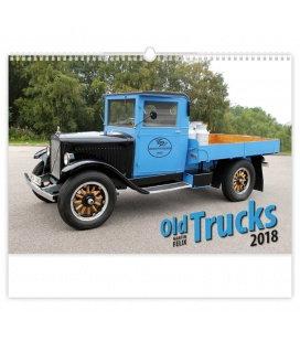Nástěnný kalendář Old Trucks 2018