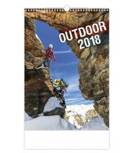 Nástěnný kalendář Outdoor 2018