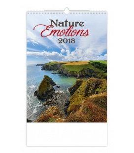Nástěnný kalendář Nature Emotions 2018