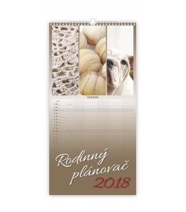 Nástěnný kalendář Rodinný plánovač 2018