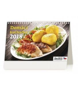 Stolní kalendář Domácí kuchařka 2018