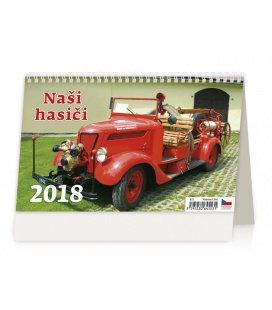 Stolní kalendář Naši hasiči 2018