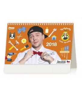 Stolní kalendář Vychytávky Ládi Hrušky 2018