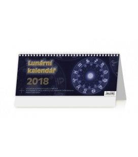 Stolní kalendář Lunární kalendář 2018
