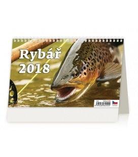 Stolní kalendář Rybář 2018