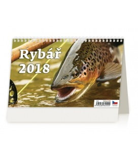 Table calendar Rybář 2018