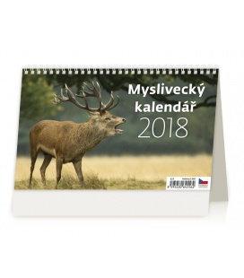 Stolní kalendář Myslivecký kalendář 2018