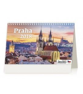 Stolní kalendář Praha 2018