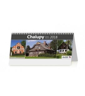 Stolní kalendář Chalupy 2018