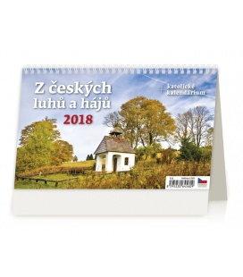 Table calendar Z českých luhů a hájů 2018