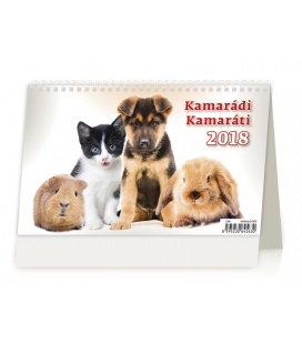 Stolní kalendář Kamarádi/Kamaráti 2018