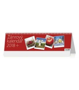 Stolní kalendář Žánrový kalendář 2018