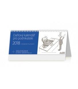 Stolní kalendář Daňový kalendář pro podnikatatele 2018