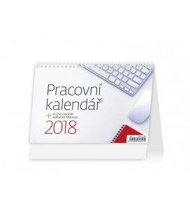 Stolní kalendář Pracovní kalendář 2018