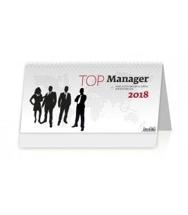 Stolní kalendář Top Manager 2018