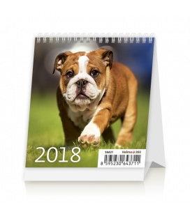 Stolní kalendář Mini Puppies 2018