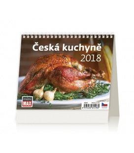 Stolní kalendář MiniMax Česká kuchyně 2018