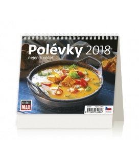 Stolní kalendář MiniMax Polévky nejen k večeři 2018