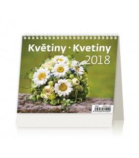 Stolní kalendář MiniMax Květiny/Kvetiny 2018