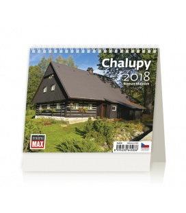 Stolní kalendář MiniMax Chalupy 2018