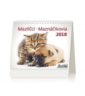 Stolní kalendář MiniMax Mazlíčci/Maznáčikovia 2018