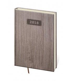 Diář týdenní A5 Wood 2018