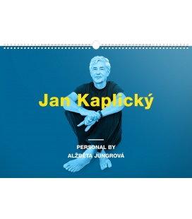 Nástěnný kalendář Personal by Alžběta Jungrová – Jan Kaplický 2018