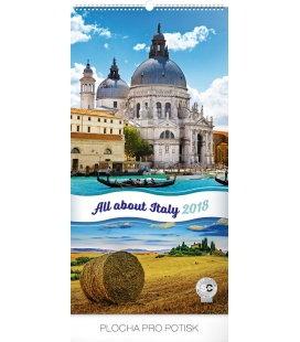 Nástěnný kalendář Zaostřeno na Itálii 2018