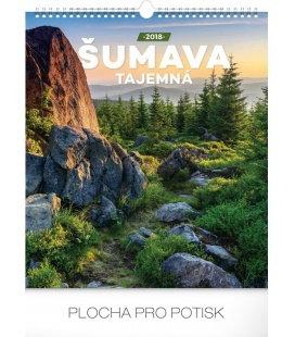 Nástěnný kalendář Šumava tajemná 2018