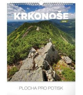 Nástěnný kalendář Krkonoše 2018