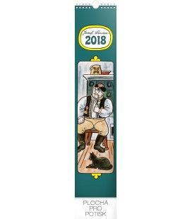 Nástěnný kalendář Josef Lada – Na vesnici 2018
