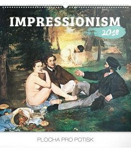 Nástěnný kalendář Impresionismus 2018